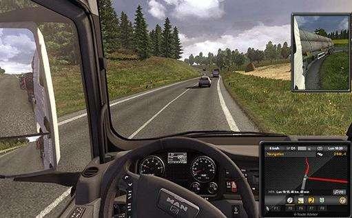 《欧洲卡车模拟2》降低发动机声音